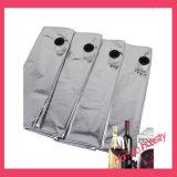 Flüssiger verpackenschellfisch-Beutel im Kasten für Wein/Wasser/Saft/Milch