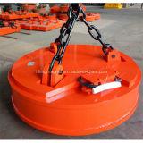 Imán de elevación circular del diámetro 2100m m electro para los desechos de acero