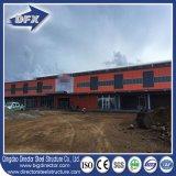 Vorfabrizierter Stahlaufbau-Lager-Werkstatt-Bauernhof-lebendes Gebäude-Haus