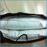 満ちる羽が付いている100%年の綿の枕挿入