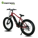 Pile au lithium Pneu à graisse Electric Beach Cruiser Bicycle