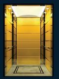 별장 집 홈 엘리베이터를 위한 황금 오두막