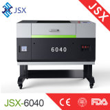 Ausschnitt Berufs-CO2 Laser-Schnittmeister des Gewebe-Jsx6040 lederner schnitzender