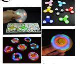 Der heiße Leuchtstoffverkauf leuchten Glühen-in-D-Dunklem Unruhe-Spinner des Handkreiselkompass-LED