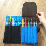 ジッパーが付いている魅力的なデザインフェルトの鉛筆袋