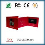 Kundenspezifische 7.0 Förderung-videogruß-Karte des Zoll-TFT LCD