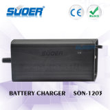 Plastic Solar Battery Charger 12V 3A Fast Battery Charger met drie-fase-modus (SON-1203)