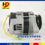 le moteur diesel de 14V 45A 3tne84 4tne88 partie l'alternateur