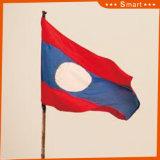 カスタムSunproofの国旗のラオスの国旗モデルNo.防水すれば: NF-034