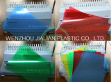 Folha rígida do PVC para a tampa obrigatória do A4/A3 ou personalizado