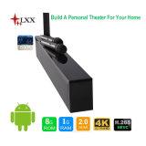 4.0 Bluetooth 무선 원격 제어 3D 기술적인 Soundbar 인조 인간 텔레비젼 상자