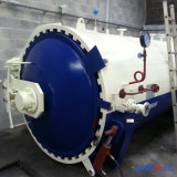 1500X3000mm ASME certificados dirigem a autoclave de borracha de Vulcanizating do aquecimento de vapor