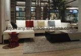 Ultimo sofà della casa del sofà del cuoio bianco di stile 2105 (D-71-G+H)