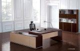 Mobília de escritório executiva de madeira moderna da tabela da saliência do carvalho preto (HF-SID001)