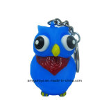 Colorful Eyes Pop Out Animal Keyring Toys avec Keychain