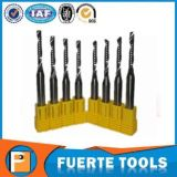 Morceau personnalisé de couteau d'outil de travail du bois de carbure de tungstène