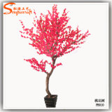 Inicio decorativo Mini Bonsai Artificial árbol de la flor