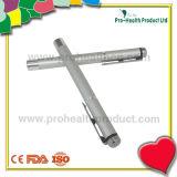 Interruptor Handheld LED médico Penlight (pH09-093) del tacto del clip de la aleación de aluminio
