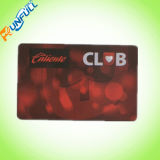 Impressão perfecta Custom Transparent PVC Clear Plastic Card