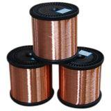 直径0.10mm-5.00mmモーター、変圧器、コイルのための銅の覆われたアルミニウムワイヤーCCAによってエナメルを塗られるワイヤー