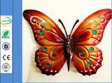 Decoración del arte de la mariposa del metal de la manera para Hareware casero