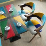 북유럽 작풍 현대 대중음식점 의자 나무로 되는 식사 의자