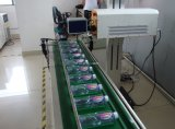 Máquina de la marca del laser del CO2 del vuelo para la bebida (PLT-10W)