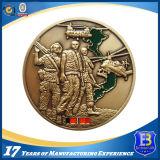 OEMの昇進3Dの旧式な金の記念品の硬貨(Ele-C008)