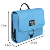 Hanging Waterproof Men Nylon Cosmetic Travel Toilet Toiletry Wash Bag