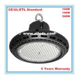 6000k alto indicatore luminoso della baia del UFO LED per il centro commerciale/miniera/fabbrica/mostra