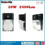 Chine Fabricant Prix usine K120lm / W Garantie de 5 ans Capteur étanche 20W Outdoor LED Wall Pack Lighting