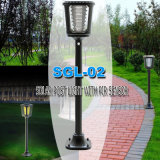 China Rechargeable LED Integrated Lawn Solar Light Fabricante