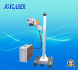 10W Metal und Nonmetal Flying Fiber Laser Marking Machine