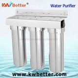 De tres niveles peculiar de la esterilización del acero inoxidable del purificador del agua de la tubería