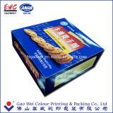 Contenitore piegante su ordinazione che impacca, prodotti del contenitore di carta di biscotti migliori, contenitore di carta di biscotti della carta da stampa dei prodotti della Cina di regalo