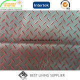55% Polyester 45% Viscose Men's Suit Jacquard Liner Forro Fornecedor de tecido