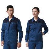 Polyester-fertigen Selbstschönheits-Arbeiter-Uniform 100% mit kundenspezifisch an