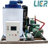 Máquina de hielo de la escama de la salida diaria de 5 toneladas con el compresor de Bitzer