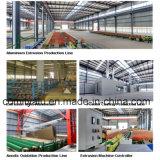 Profil en aluminium de mur rideau d'approvisionnement d'usine de la Chine pour le projet de façade