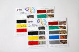 Impresión brillante plegable modificada para requisitos particulares del folleto de la pintura
