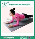 De milieuvriendelijke Mat van Pilates van de Fitness van de Gymnastiek van het Schuim van de Mat NBR van Sporten