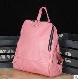 일본 한국에 있는 Clemence 패턴 가죽 핸드백 책가방 Schoolbag