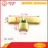 Di piastra metallica con la serratura della decorazione per Hangbag
