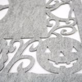3mm Polyester Placemat voor de Decoratie van Halloween