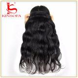 人間の毛髪の拡張バージンのブラジルの毛ボディ波の毛