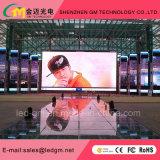 Afficheur LED P3/écran/signe polychromes d'intérieur pour l'exposition d'étape