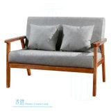 Sofà moderno del salotto del blocco per grafici di legno solido del salone (HW-2130S)