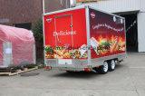 Camion mobile fait sur commande de nourriture de guichet