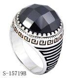 Anéis de prata dos homens da alta qualidade de Hotsale da fábrica
