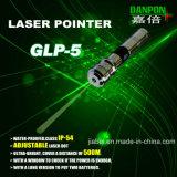 Danpon調節可能な水によって検査されるレーザーのポインター